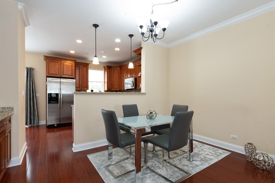 Real Estate Photography - 205 N. louis Street, Unit C, Mount Prospect, IL, 60056 - Dining Area