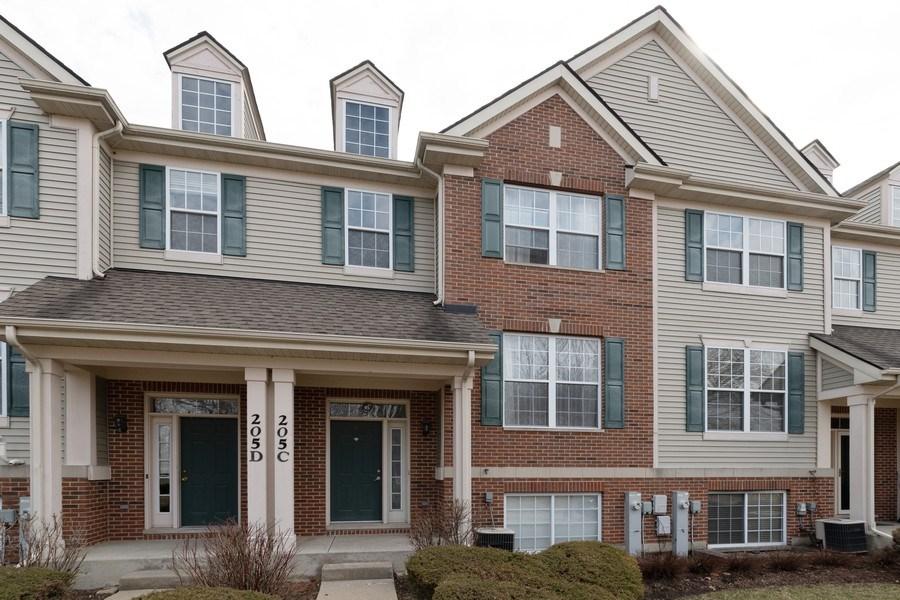 Real Estate Photography - 205 N. louis Street, Unit C, Mount Prospect, IL, 60056 - Front View