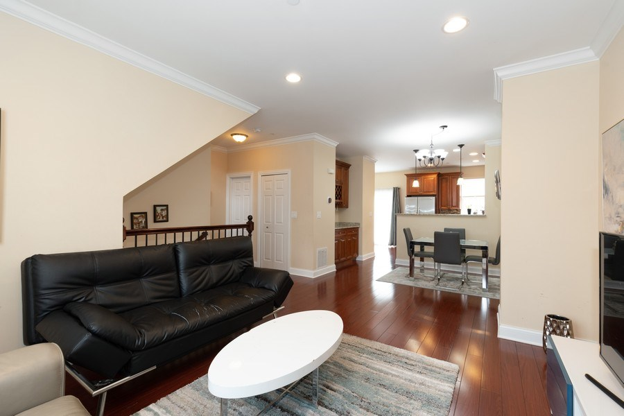 Real Estate Photography - 205 N. louis Street, Unit C, Mount Prospect, IL, 60056 - Living Room / Dining Room