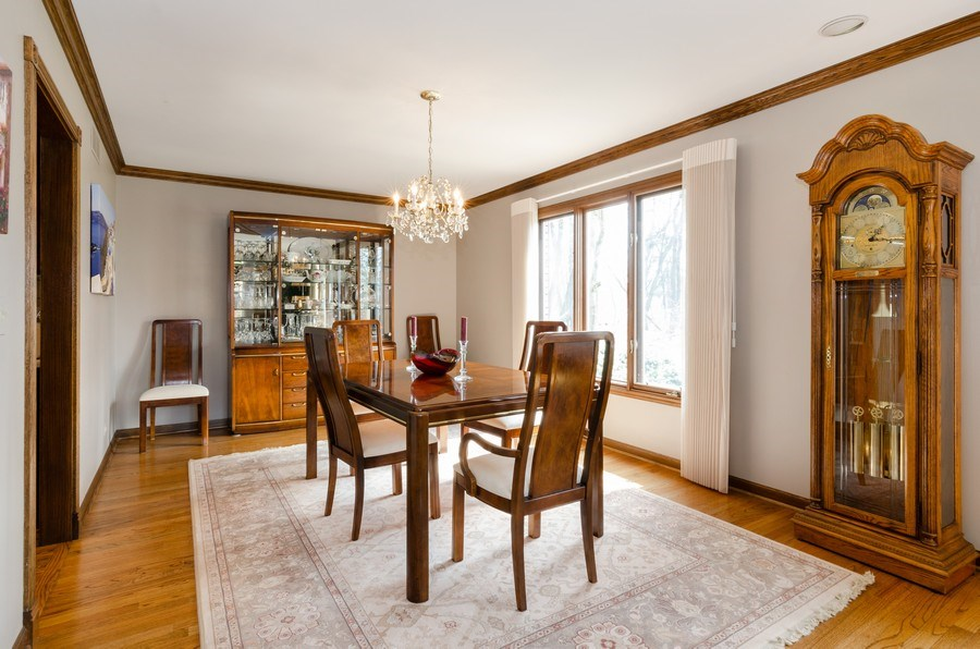Real Estate Photography - 18N509 SLEEPY HOLLOW Lane, Dundee, IL, 60118 - Dining Room