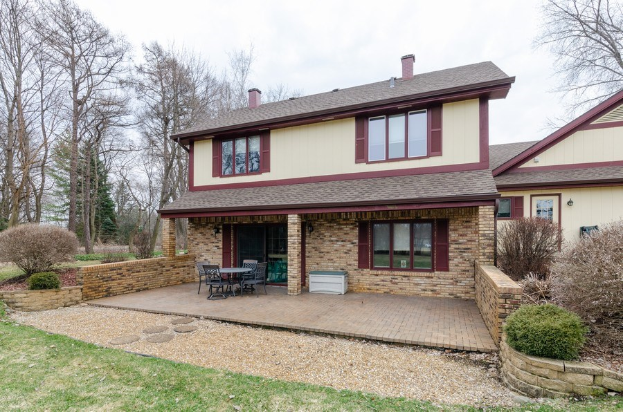 Real Estate Photography - 18N509 SLEEPY HOLLOW Lane, Dundee, IL, 60118 - Rear View