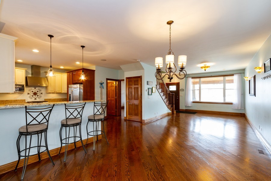 Real Estate Photography - 10612 S. Whipple Street, Chicago, IL, 60655 - Living Room