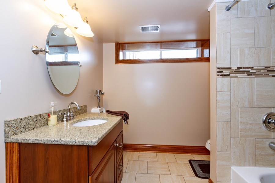 Real Estate Photography - 10612 S. Whipple Street, Chicago, IL, 60655 - 3rd Bathroom