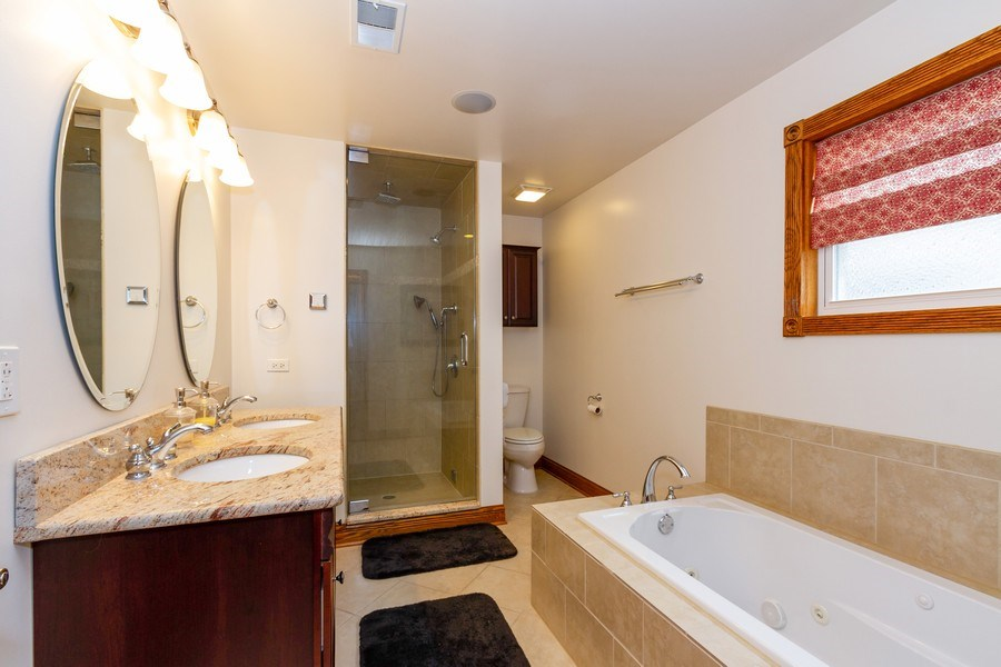 Real Estate Photography - 10612 S. Whipple Street, Chicago, IL, 60655 - Master Bathroom