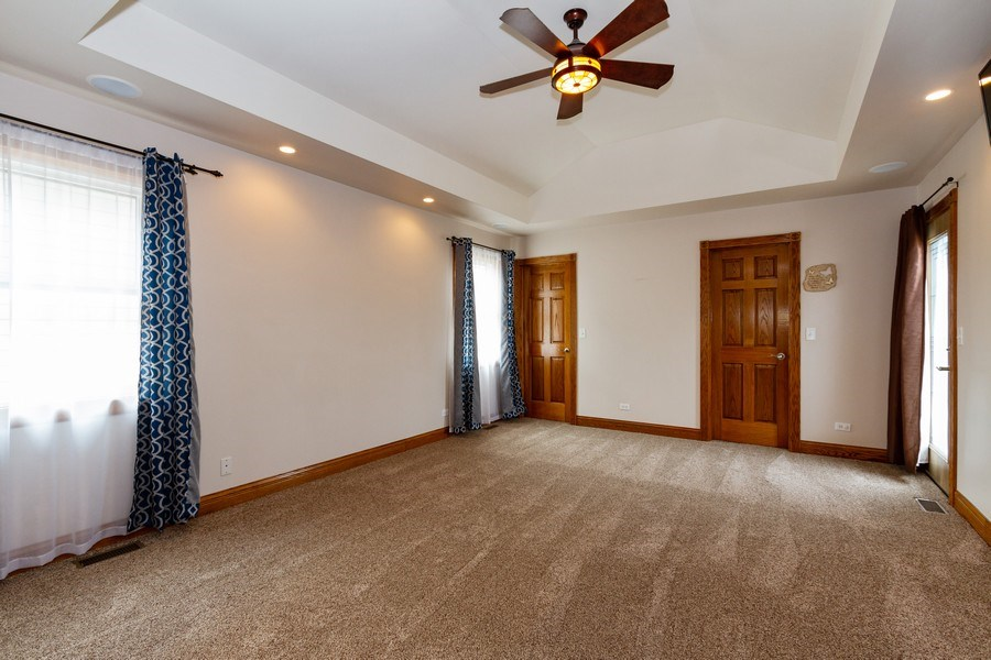 Real Estate Photography - 10612 S. Whipple Street, Chicago, IL, 60655 - Master Bedroom