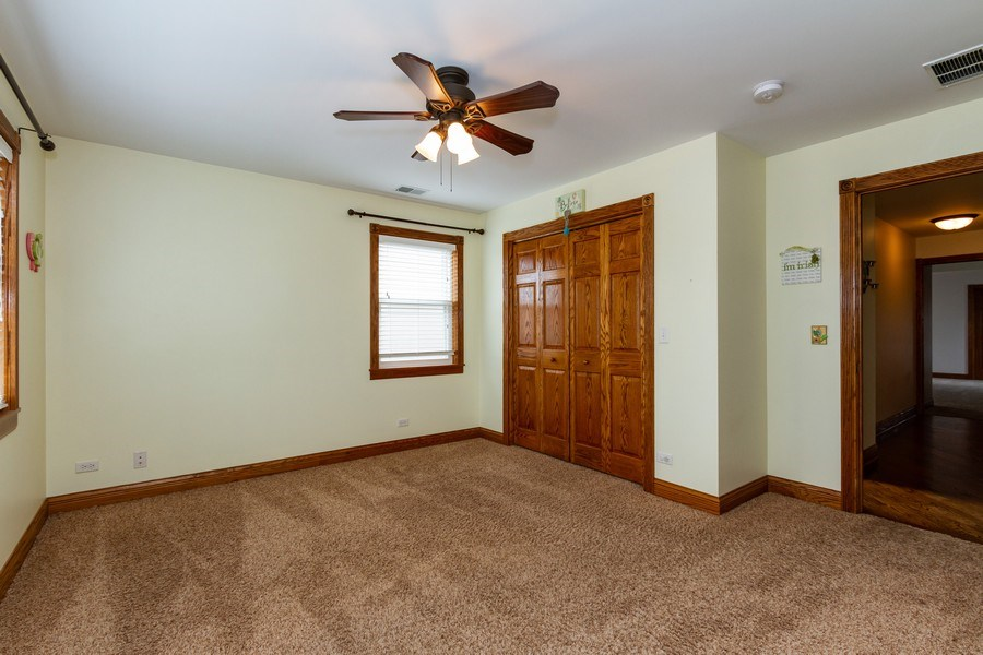 Real Estate Photography - 10612 S. Whipple Street, Chicago, IL, 60655 - 3rd Bedroom