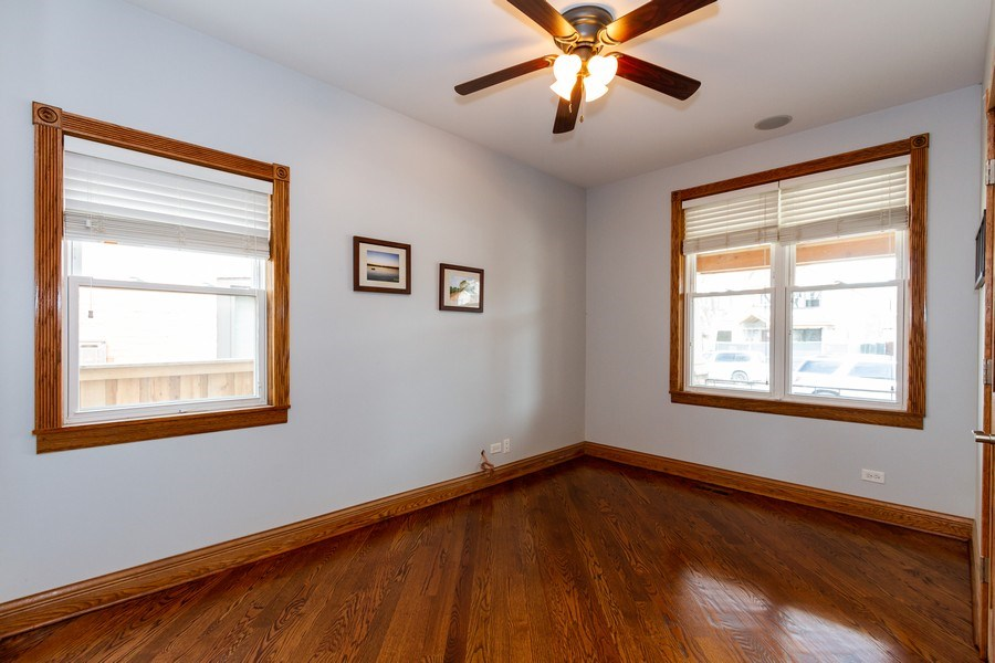 Real Estate Photography - 10612 S. Whipple Street, Chicago, IL, 60655 - 4th Bedroom