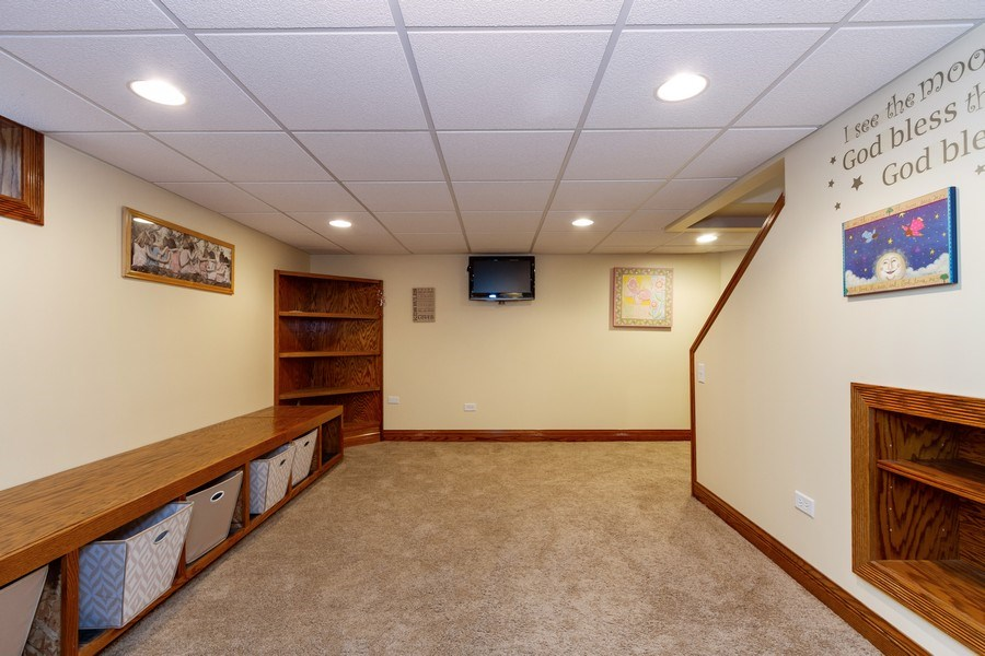 Real Estate Photography - 10612 S. Whipple Street, Chicago, IL, 60655 - Lower Level
