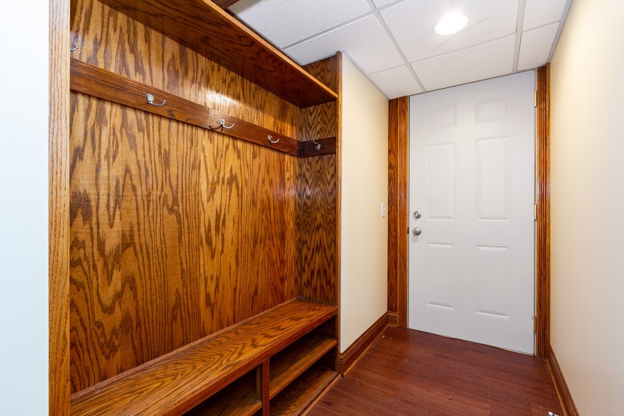 Real Estate Photography - 10612 S. Whipple Street, Chicago, IL, 60655 - Mudroom