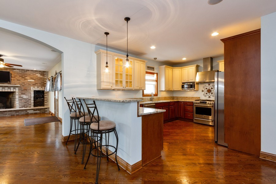 Real Estate Photography - 10612 S. Whipple Street, Chicago, IL, 60655 - Kitchen