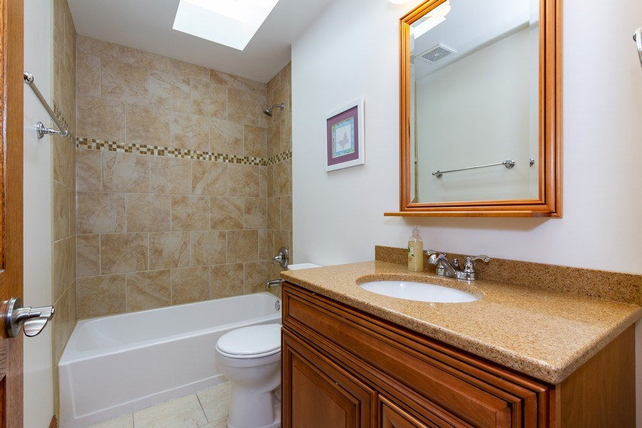 Real Estate Photography - 10612 S. Whipple Street, Chicago, IL, 60655 - Bathroom