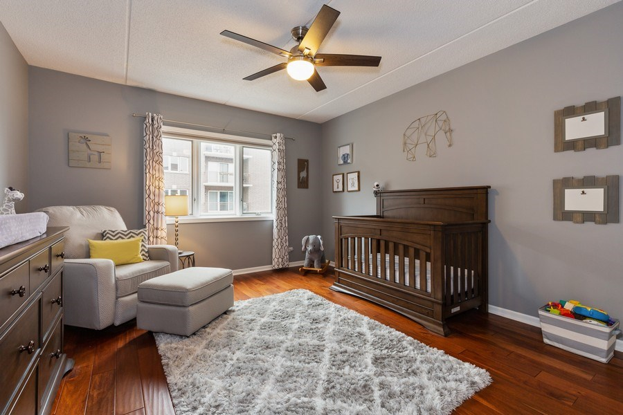 Real Estate Photography - 1330 Perry Street, Unit 406, Des Plaines, IL, 60016 - 2nd Bedroom