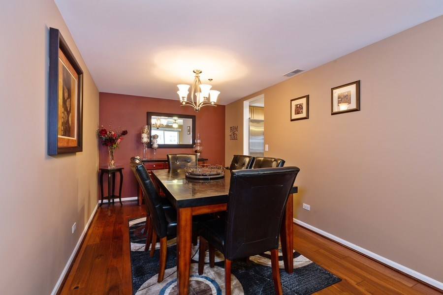 Real Estate Photography - 1330 Perry Street, Unit 406, Des Plaines, IL, 60016 - Dining Room