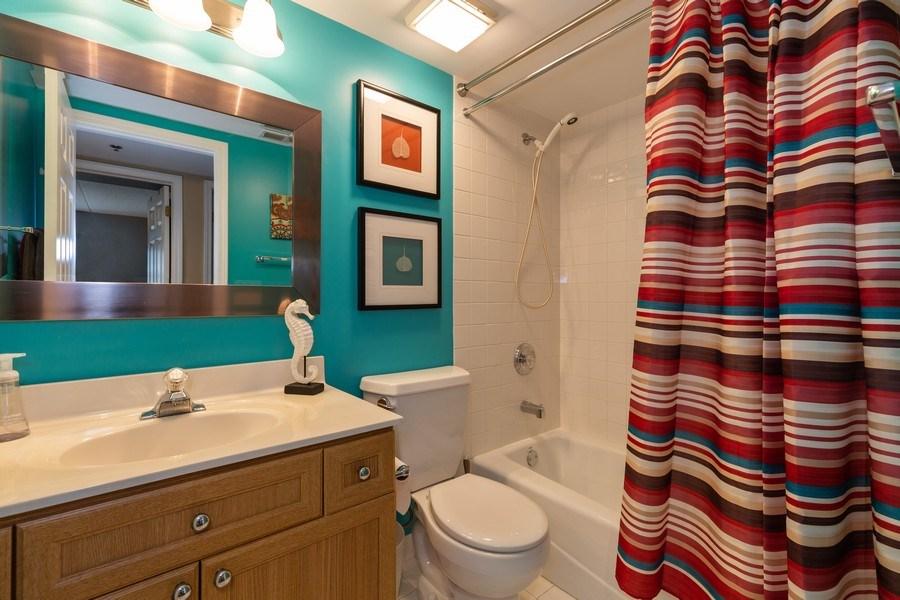 Real Estate Photography - 1330 Perry Street, Unit 406, Des Plaines, IL, 60016 - Bathroom