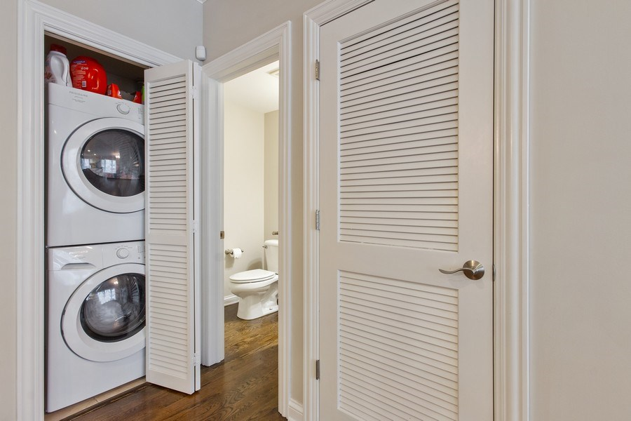 Real Estate Photography - 3250 N. Lincoln Avenue, Unit E, Chicago, IL, 60657 - Laundry Room