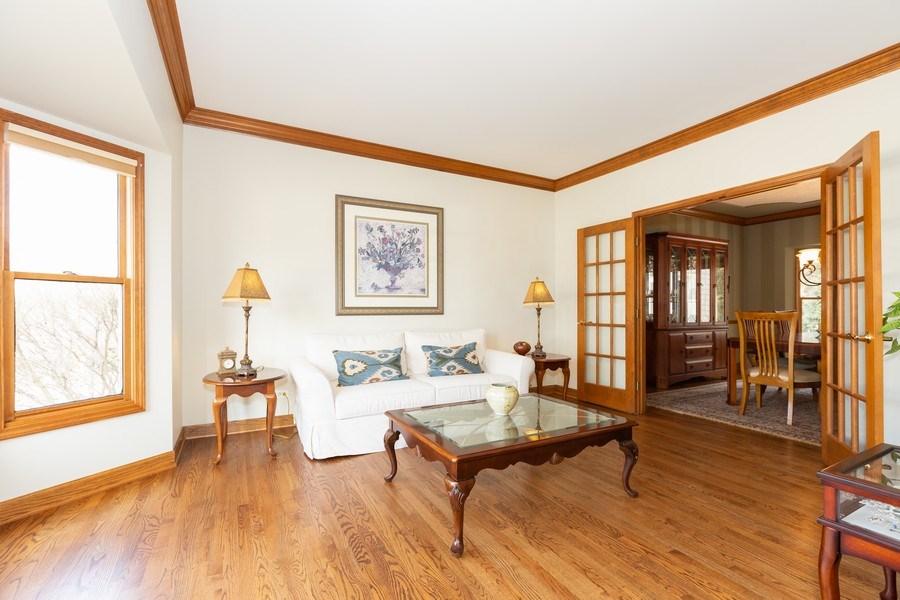 Real Estate Photography - 1479 RADCLIFF Lane, Aurora, IL, 60502 - Living Room