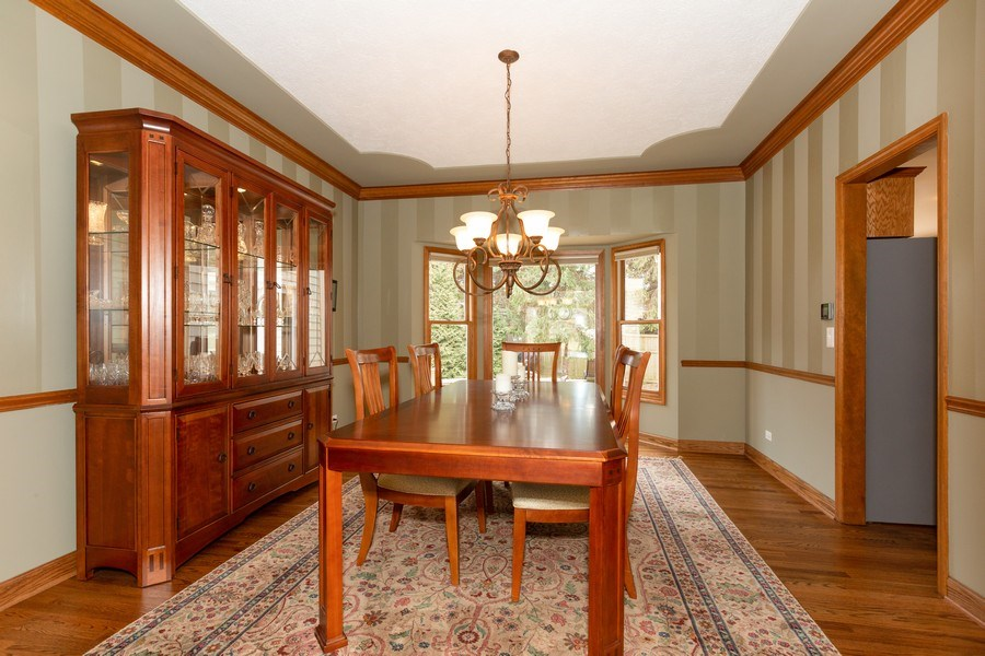 Real Estate Photography - 1479 RADCLIFF Lane, Aurora, IL, 60502 - Dining Room