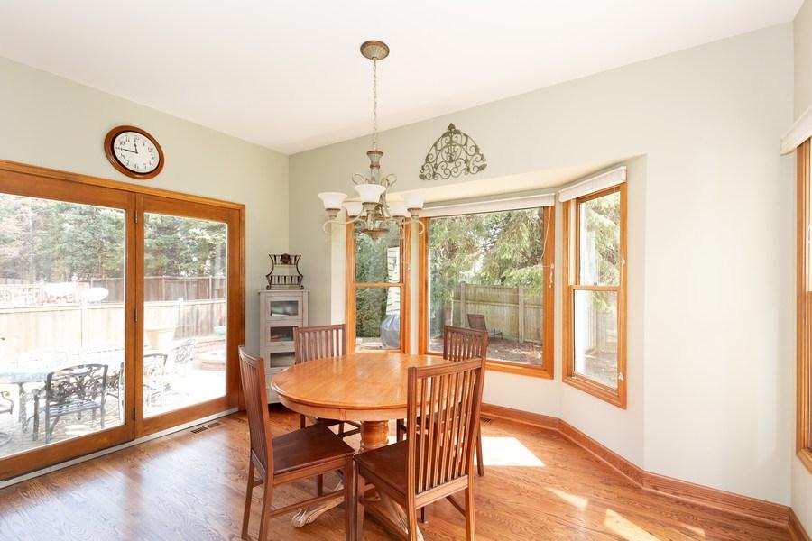 Real Estate Photography - 1479 RADCLIFF Lane, Aurora, IL, 60502 - Breakfast Area