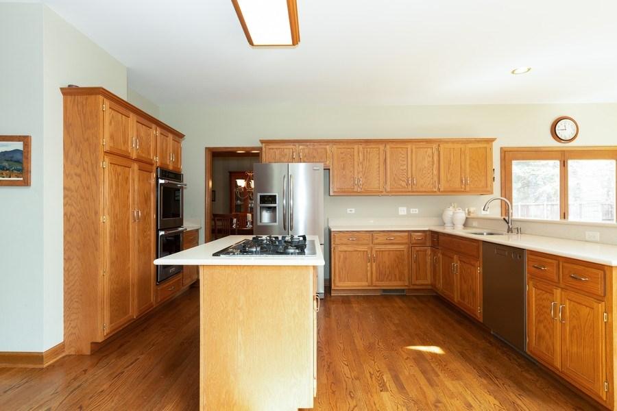Real Estate Photography - 1479 RADCLIFF Lane, Aurora, IL, 60502 - Kitchen