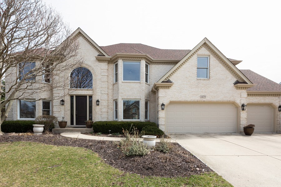 Real Estate Photography - 1479 RADCLIFF Lane, Aurora, IL, 60502 - Front View