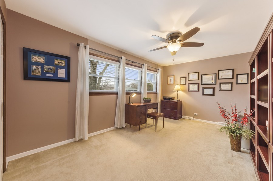 Real Estate Photography - 1931 N. Burke Drive, Arlington Heights, IL, 60004 - 2nd Bedroom