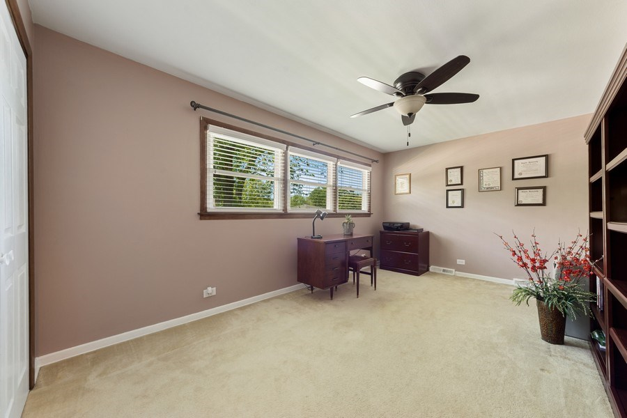 Real Estate Photography - 1931 N. Burke Drive, Arlington Heights, IL, 60004 - 3rd Bedroom