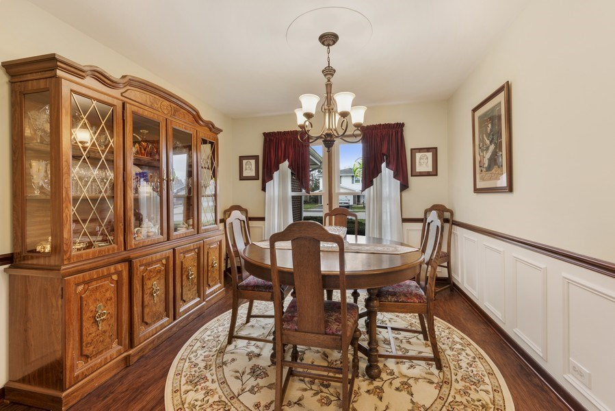 Real Estate Photography - 1931 N. Burke Drive, Arlington Heights, IL, 60004 - Dining Room
