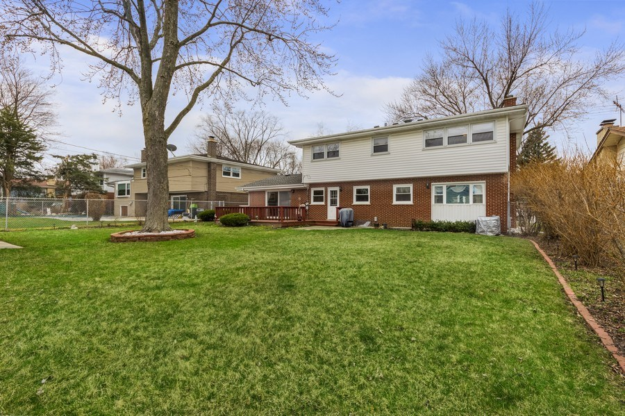 Real Estate Photography - 1931 N. Burke Drive, Arlington Heights, IL, 60004 - Rear View