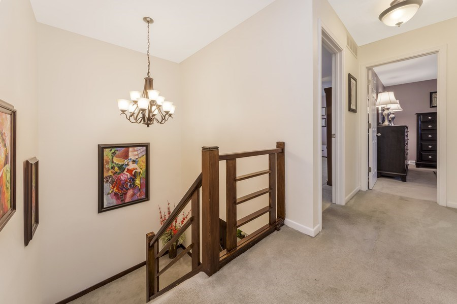 Real Estate Photography - 1931 N. Burke Drive, Arlington Heights, IL, 60004 - Staircase