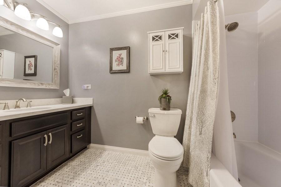 Real Estate Photography - 1931 N. Burke Drive, Arlington Heights, IL, 60004 - 2nd Bathroom