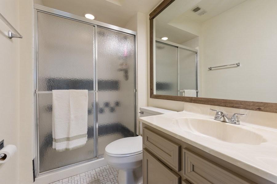 Real Estate Photography - 1452 N. Elmhurst Road, Unit 104C, Mount Prospect, IL, 60056 - Master Bathroom