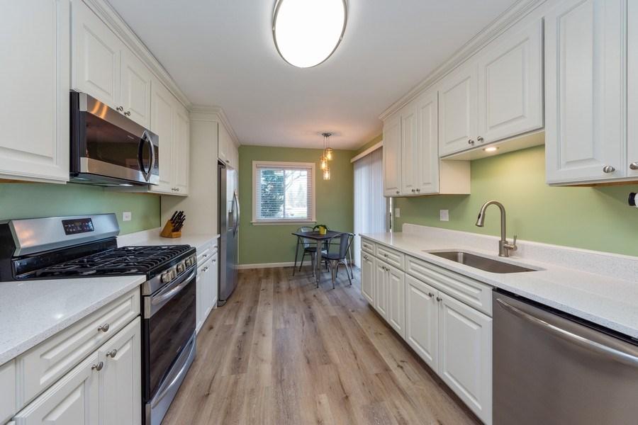 Real Estate Photography - 1452 N. Elmhurst Road, Unit 104C, Mount Prospect, IL, 60056 - Kitchen / Breakfast Room
