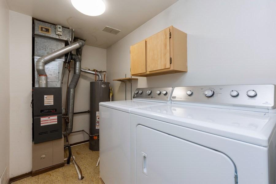 Real Estate Photography - 1452 N. Elmhurst Road, Unit 104C, Mount Prospect, IL, 60056 - Laundry Room