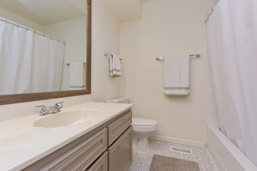 Real Estate Photography - 1452 N. Elmhurst Road, Unit 104C, Mount Prospect, IL, 60056 - 2nd Bathroom