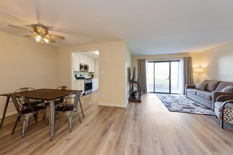 Real Estate Photography - 1452 N. Elmhurst Road, Unit 104C, Mount Prospect, IL, 60056 - Living Room/Dining Room