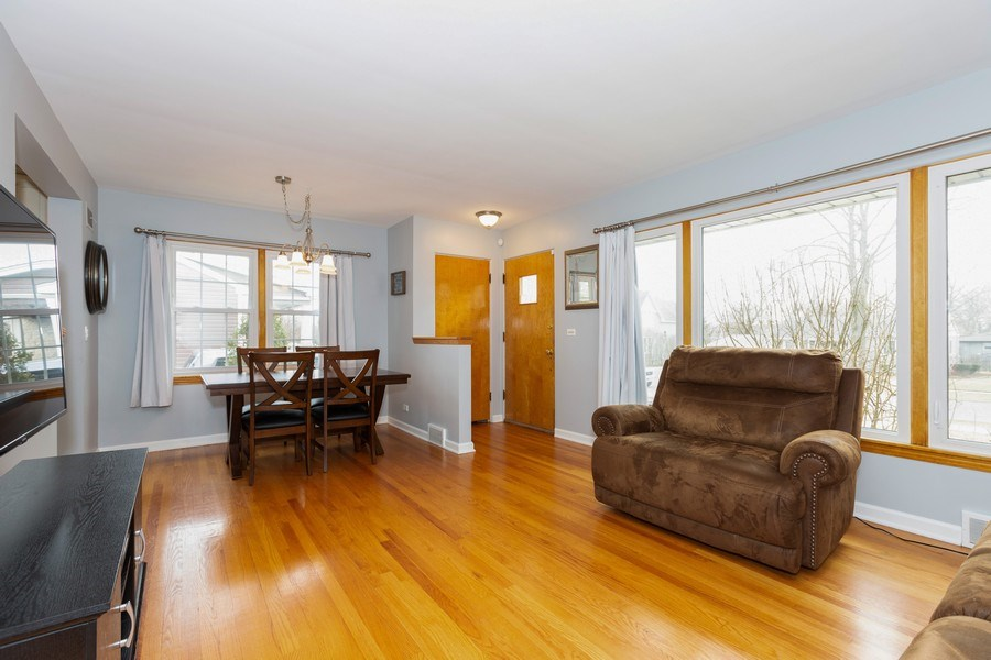 Real Estate Photography - 426 Grant Street, Downers Grove, IL, 60515 - Living Room