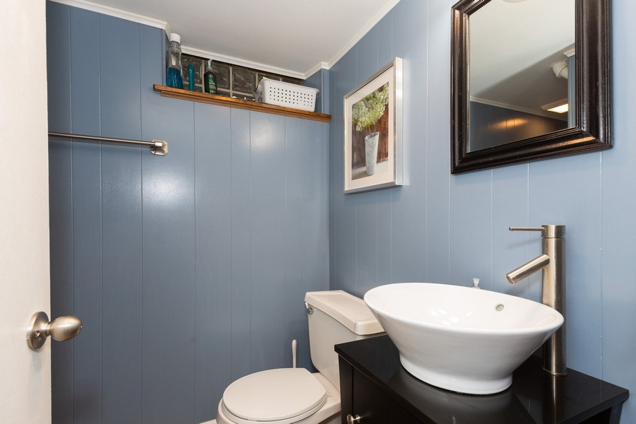 Real Estate Photography - 426 Grant Street, Downers Grove, IL, 60515 - 2nd Bathroom