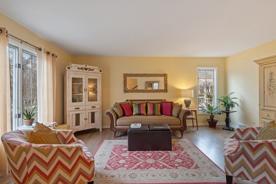 Real Estate Photography - 1420 Royal St George Drive, Naperville, IL, 60563 - Living Room