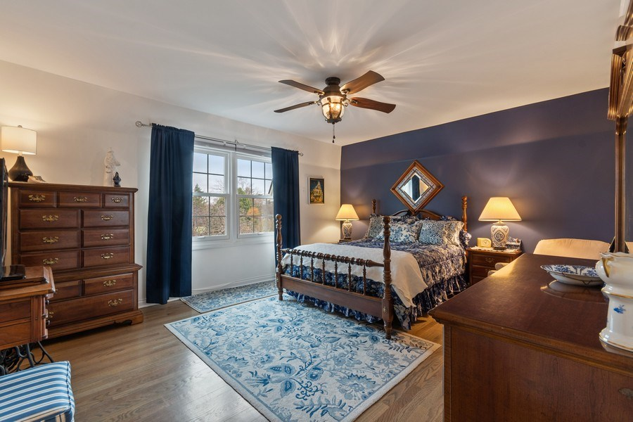 Real Estate Photography - 1420 Royal St George Drive, Naperville, IL, 60563 - Master Bedroom