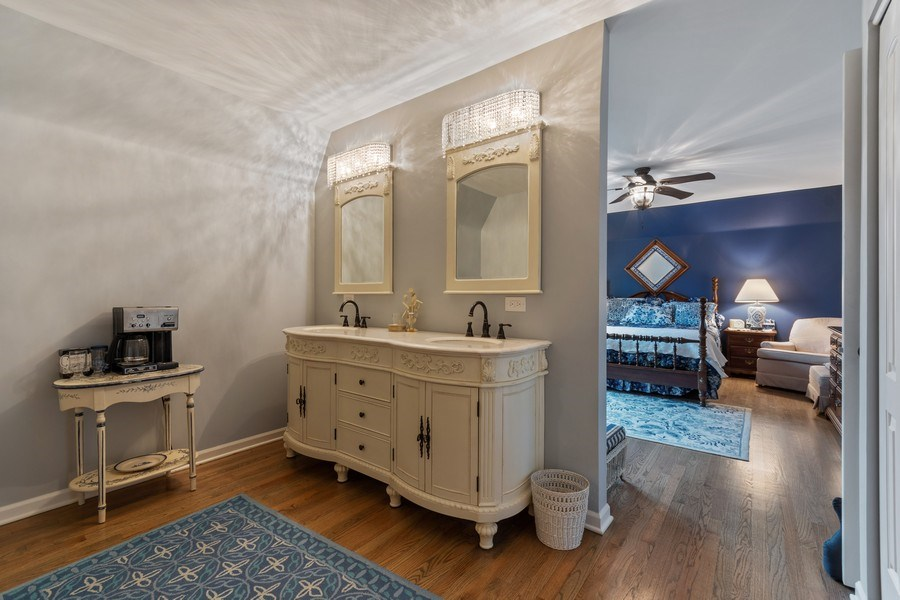 Real Estate Photography - 1420 Royal St George Drive, Naperville, IL, 60563 - Master Bathroom