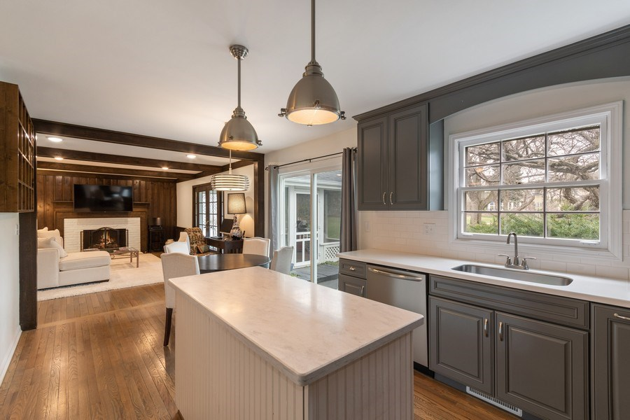 Real Estate Photography - 1420 Royal St George Drive, Naperville, IL, 60563 - Kitchen
