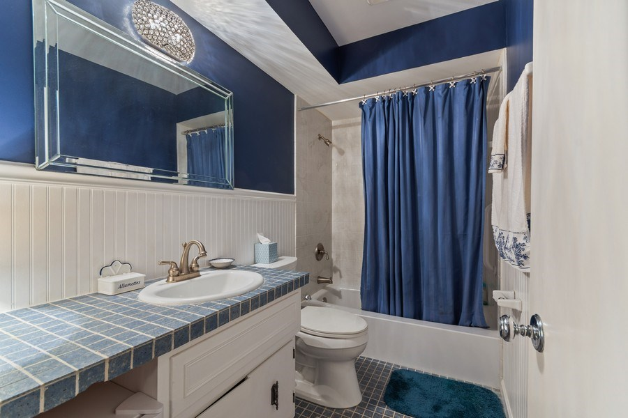 Real Estate Photography - 1420 Royal St George Drive, Naperville, IL, 60563 - 2nd Bathroom