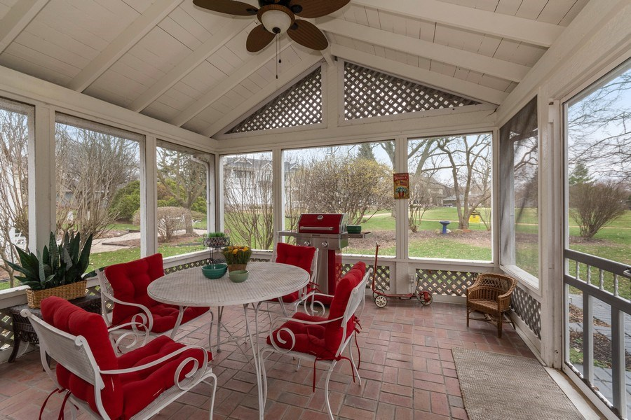 Real Estate Photography - 1420 Royal St George Drive, Naperville, IL, 60563 - Sun Room