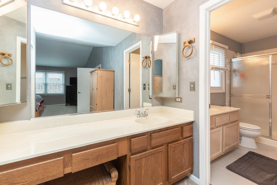 Real Estate Photography - 811 Providence Drive, Algonquin, IL, 60102 - Master Bathroom