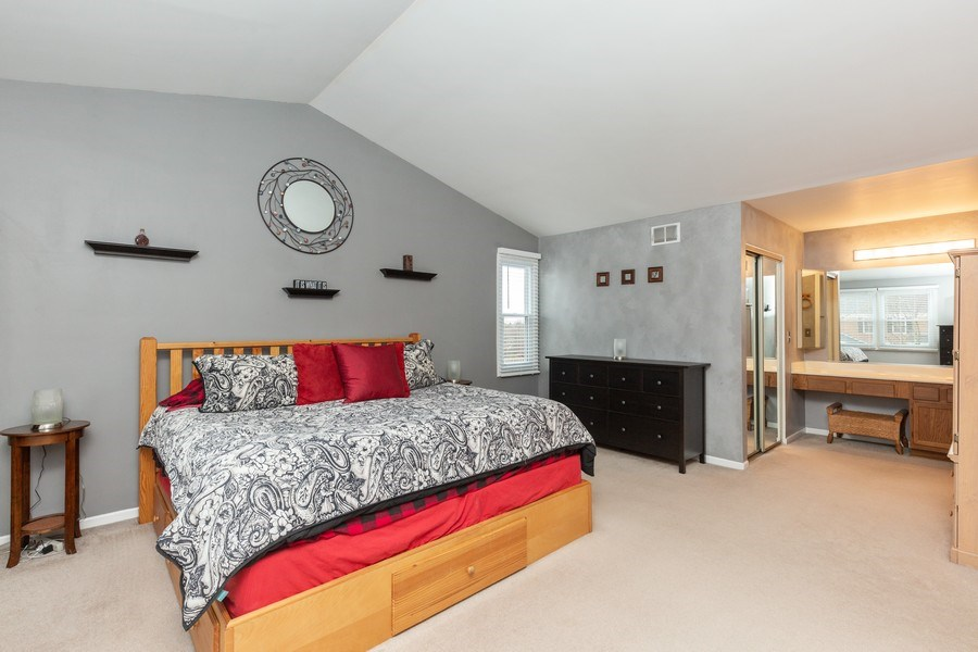 Real Estate Photography - 811 Providence Drive, Algonquin, IL, 60102 - Master Bedroom