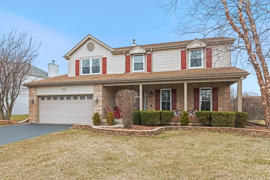 Real Estate Photography - 811 Providence Drive, Algonquin, IL, 60102 - Front View