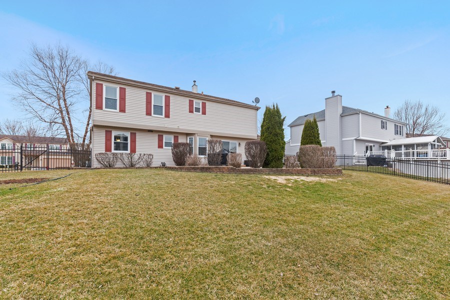 Real Estate Photography - 811 Providence Drive, Algonquin, IL, 60102 - Rear View