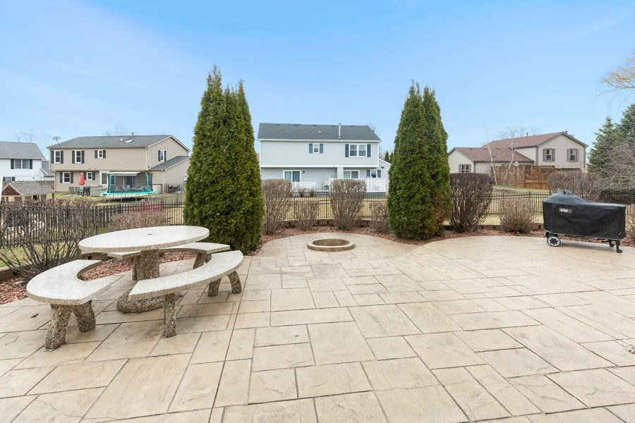 Real Estate Photography - 811 Providence Drive, Algonquin, IL, 60102 - Patio