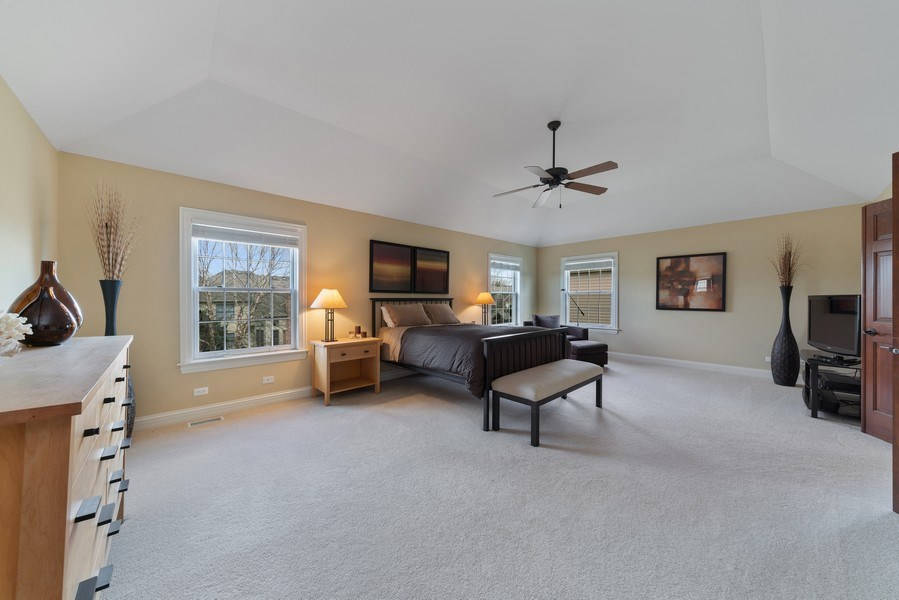 Real Estate Photography - 3012 Glacier Court, St. Charles, IL, 60174 - Master Bedroom