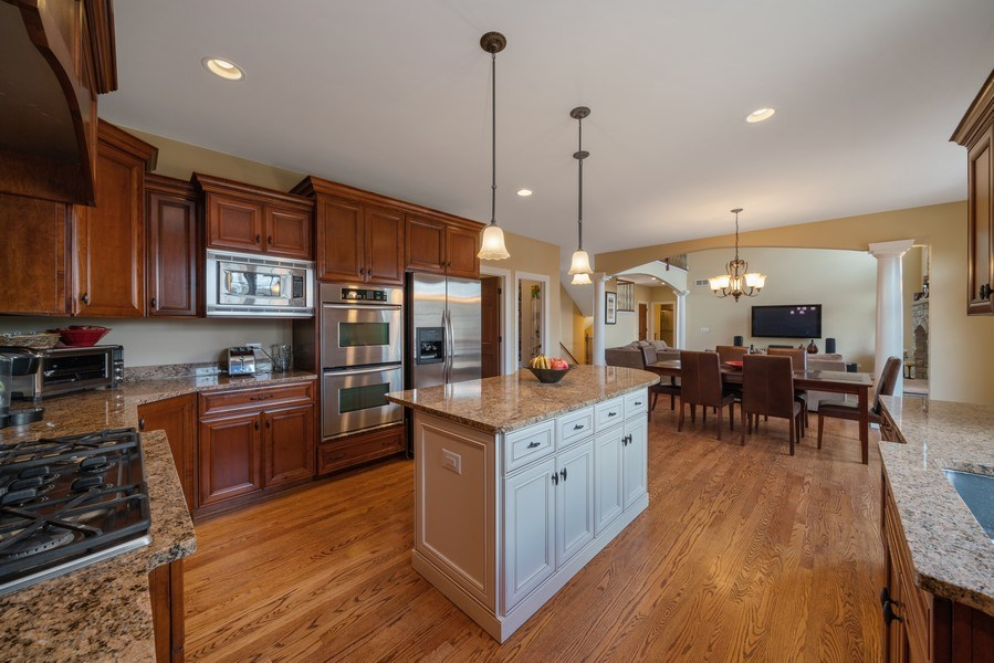 Real Estate Photography - 3012 Glacier Court, St. Charles, IL, 60174 - Kitchen